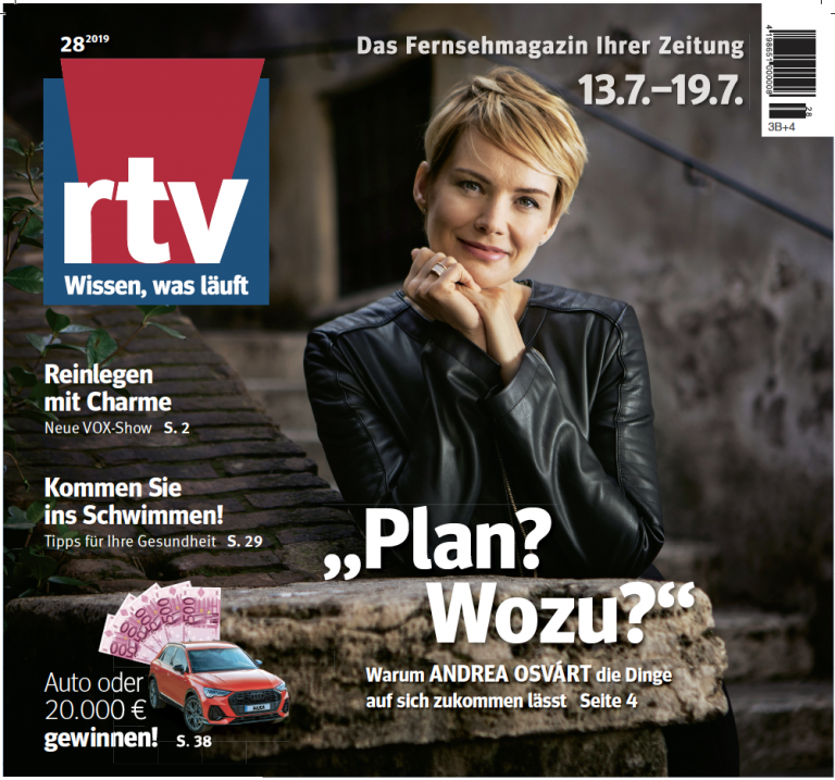 Andrea Osvart RTV Juli 2019