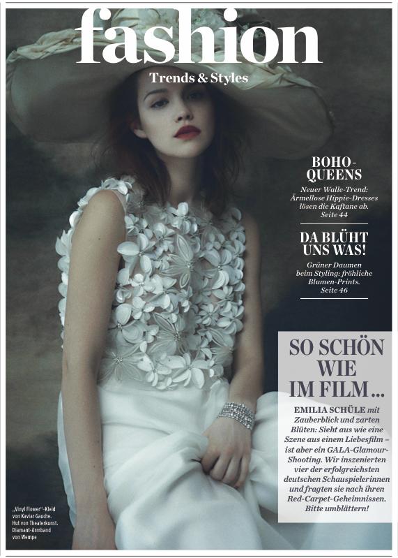 Emilia Schüle GALA Fashion September 2015