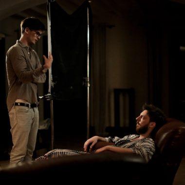 "GREGORY KIRCHHOFF (shooting ""Dusky Paradise)"